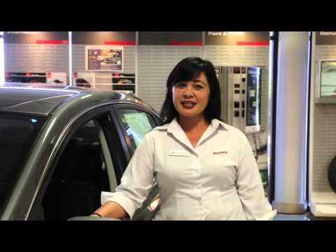 Nissan Guam Sales Consultant Lisa Eclavea - Tire Alert System