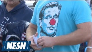 Barstool Sports Hands Out 70,000 Roger Goodell Clown Towels