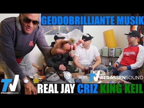 REAL JAY, CRIZ & KING KEIL INTERVIEW: Geddobrilliante Musik, MC Bogy, Frankfurt, Azad, Jonesmann