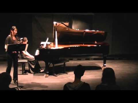 Alban Berg - Vier Stücke Für Klarinette Und Klavier, Op. 5