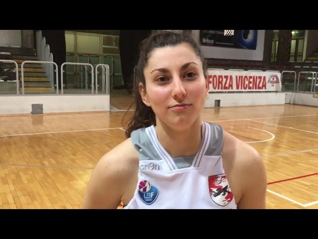 BASKET - Gisel Beatriz Villarruel (AS Vicenza) top scorer , dopo Sanga Milano