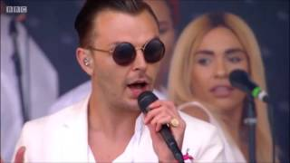 Скачать Hurts Rolling Stone Lights Live Glastonbury 2016