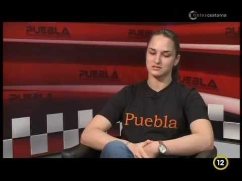 Judo: Joó Abigél volt a Dinó Sporthíradó vendége