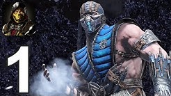 Mortal Kombat Mobile - Gameplay Walkthrough Part 1 - Towers 1-5 (iOS, Android)