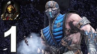 Mortal Kombat Mobile - Gameplay Walkthrough Part 1 - Towers 1-5 (iOS, Android)