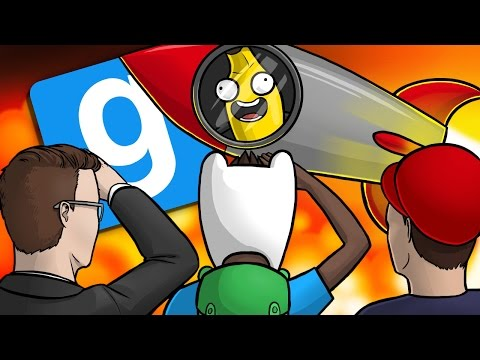 THE RIDE OF YOUR LIFE!! - GMod Deathrun Funny Moments Gameplay (Garrys Mod Funny Moments)