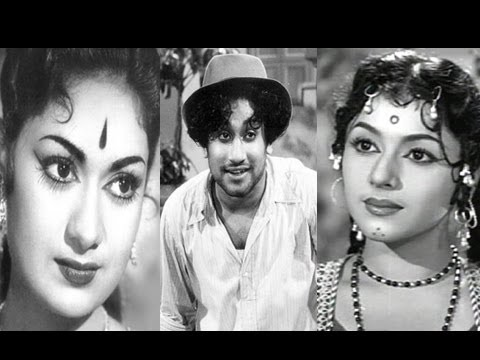 Sivaji Ganesan, Padmini, Savitri - Nadodi Koottam - Amara Deepam - Tamil Classic Song