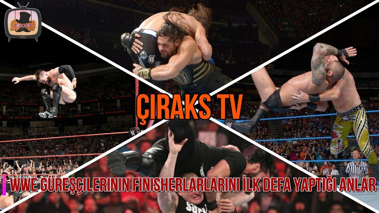 WWE Güreşçilerinin Finisherlarlarını İlk Defa Yaptığı Anlar