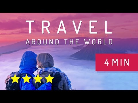 Travel around the world in 4 minutes - Julie & Julien [Lesjus.com]