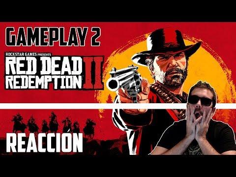 RED DEAD REDEMPTION 2  | GAMEPLAY ESPAÑOL | REACCIÓN | PARTE 2 | ¡¡¡BRUTAL!!!