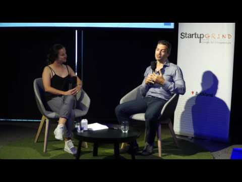 Aaron Patzer at Startup Grind Auckland