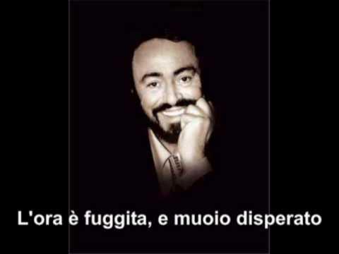 The best of Pavarotti - E lucevan le stelle