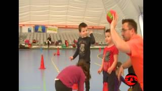 baby hand Narbonne Hand Ball Saison 2015-2016