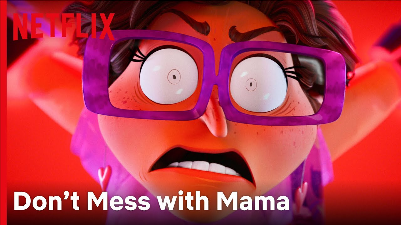 An Angry Mom Can Save the World 🦸♀️ | The Mitchells VS The Machines | Netflix