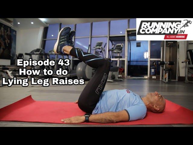 43 episode How to do Lying Leg Raises