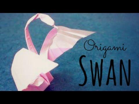 Origami Swan (Hoàng Tiến Quyết) Tutorial
