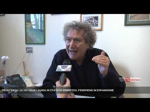 TG VICENZA | 21/01/2020 | GUIDA IN STATO DI EBBREZ...