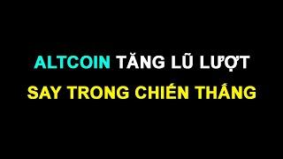 #197: Altcoin tăng lũ lượt, say trong chiến thắng   Minh Thắng Tradecoin