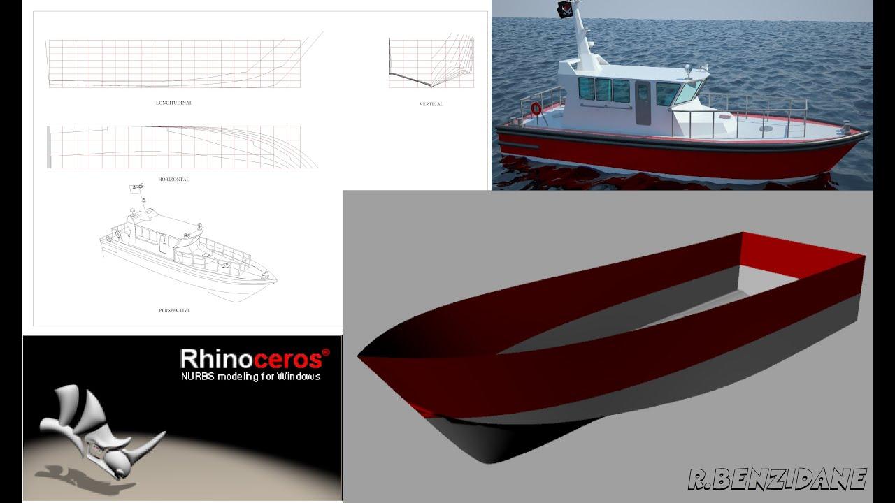 leçon N°01 Rhinoceros ( plan de forme d'un bateau ...