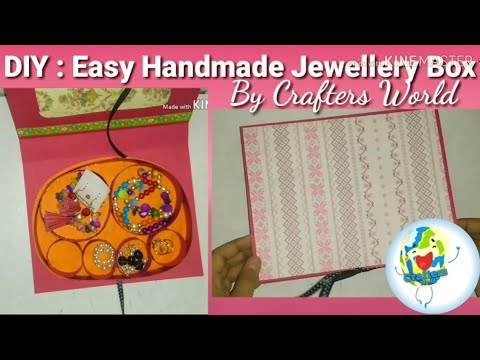 DIY: Easy Jewellery Box Tutorial | How to make a Jewellery Box