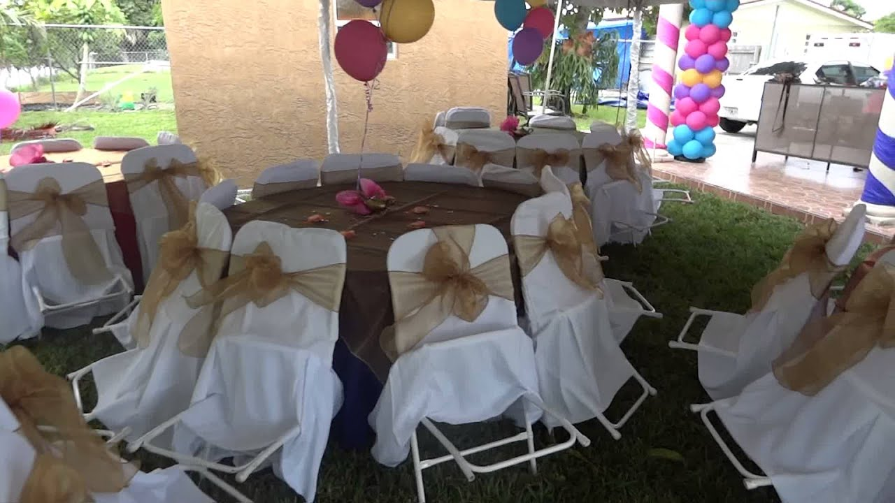 tables chairs rental 2 tan leather chair rent tent with and party rentals youtube