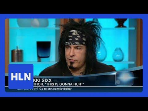 HLN Official Interview: Nikki Sixx: I was declared dead ...