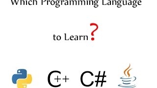 How to choose which programming language to learn