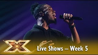 Dalton Harris sings Listen by Beyonce! 😲 Live Shows Week 5 | The X Factor UK 2018
