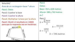 ¿Cómo cubicar un tereno? - medida en hectareas - método 1