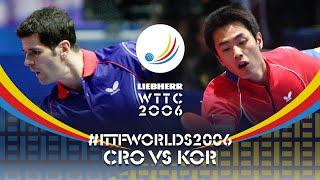 Вспоминаем 2006 год - Zoran Primorac vs Joo Sae Hyuk | WTTC 2006