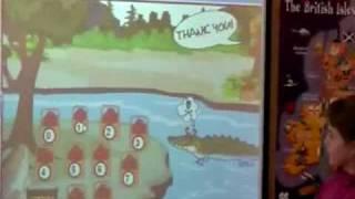 Урок-игра с использованием Smart-доски