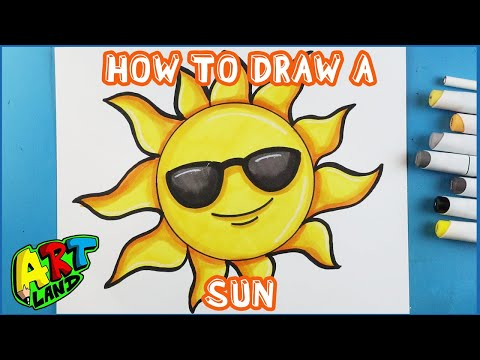 How to Draw a SUN!!!