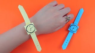 Origami Watch | How To Make Easy Paper Watch | Origami Tutorial | 5 Minute Handcrafts