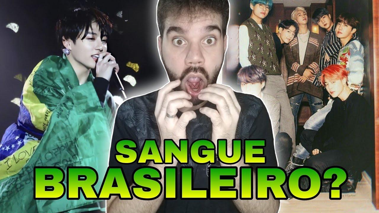 INTEGRANTES DO BTS FALANDO EM PORTUGUÊS   SHOW NO BRASIL 2019