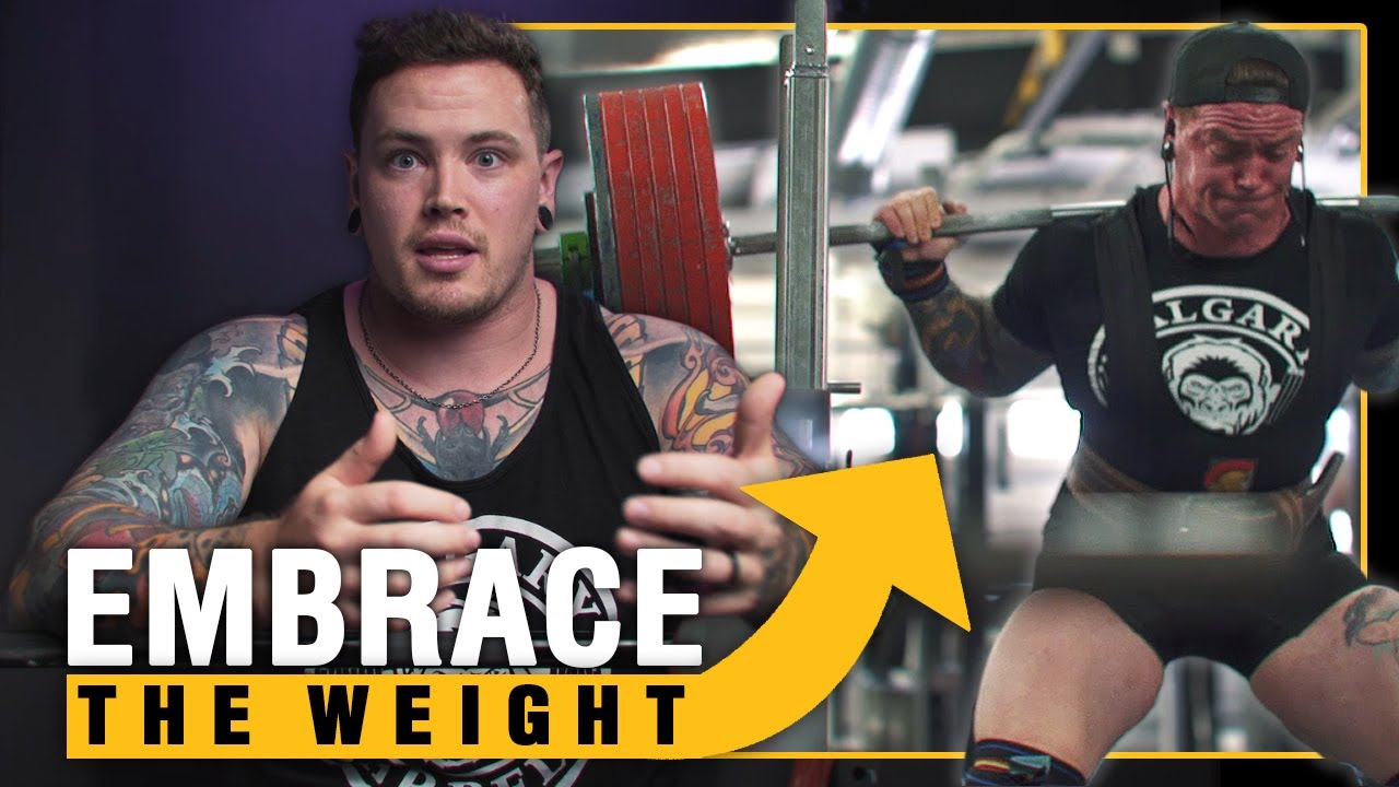 Get Over Your Fear of Lifting Heavy Weights [Three different Ways]