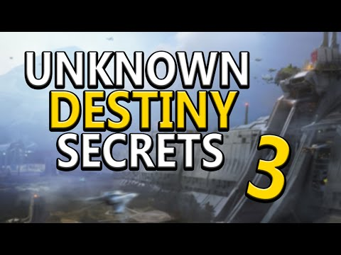 Most Secret & Unknown Things in Destiny Part 3