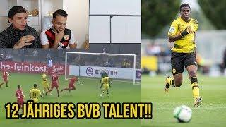 12 Jähriges BVB Talent Youssoufa Moukoko Heftige Tore & Skills feat Goalkeeperz!