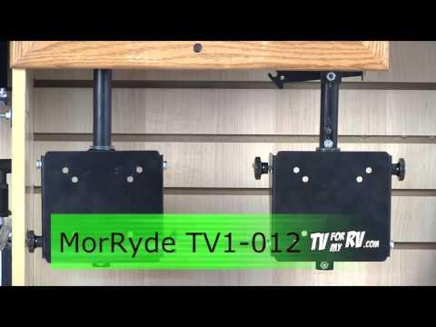 MORryde TV56 010 U0026 TV1 012 Under Cabinet TV Mount Video   YouTube