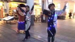 安田由紀奈さんと、福人(ふくんちゅ)さん達の口上師ダンスショー動画...