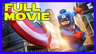 LEGO MARVEL's Avengers - Captain America: The First Avenger Full Movie (All Cutscenes)