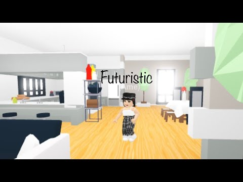Roblox Adopt Me Futuristic House Tour Youtube