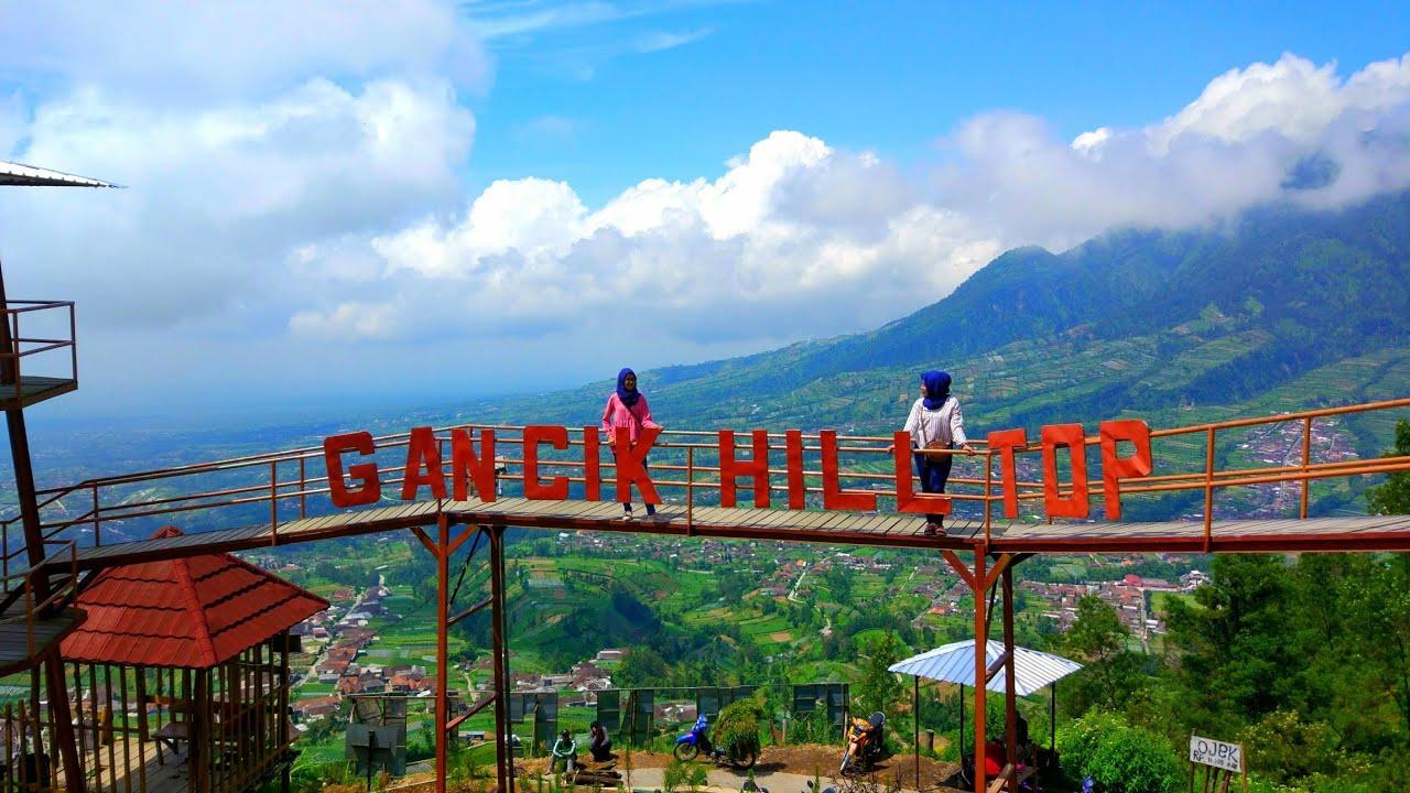 Gancik Hill Top Selo Puncak Keindahan Di Atas Awan Boyolali