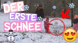 Der ERSTE und LETZTE Schneemann in diesem Winter     #Vlog