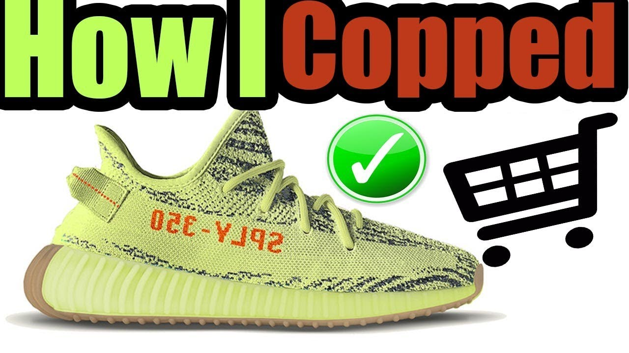 c6a5ea0968766 How I Got The SEMI FROZEN YELLOW YEEZY BOOST ( MOST LIMITED YEEZY 350 BOOST  V2 )