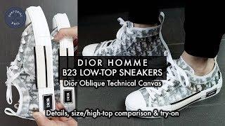 low top dior converse