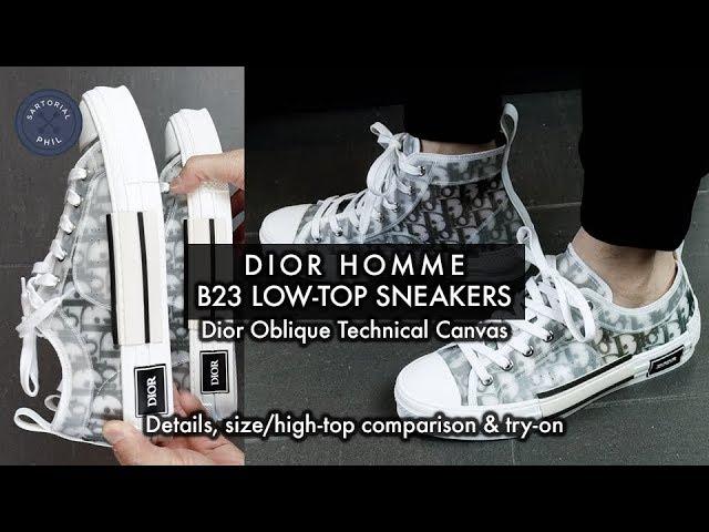 dior converse low top