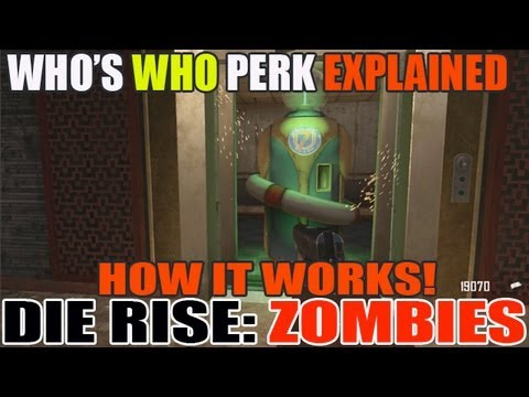 Who's Who Perk Explained + Tips! Quick Revive vs Whos Who?