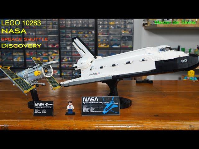 Lego, NASA, SPACE SHUTTLE, Discovery, 10283, Meister der Steine