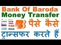 How to Transfer Money from Bank of Baroda to Other Bank - Send Money Online
