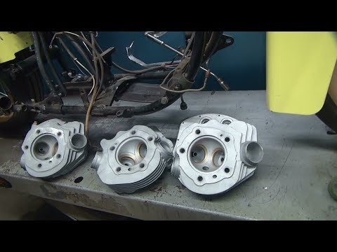 the start of 4 sets harley head rebuilds valve job panhead shovelhead and twincam by tatro machine